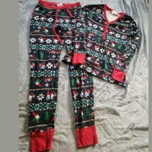 Hanna Andersson Gnome Pajama Set Small